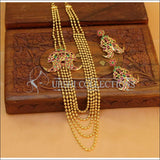 Elegant Gold Plated Necklace Set UC-NEW1125 - Necklace Set
