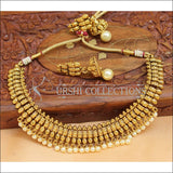 Elegant Gold Plated Necklace Set UC-NEW1613 - Necklace Set