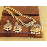 Elegant Gold Plated Necklace Set UC-NEW88 - Multi - Necklace Set