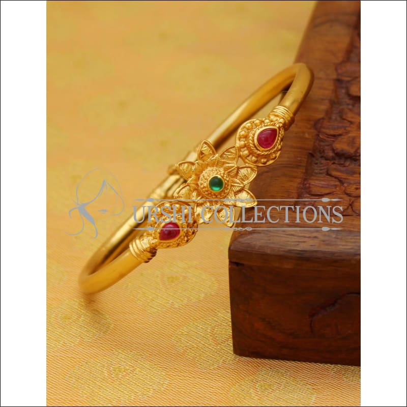 Elegant Gold Plated Openable Kada UC-NEW1811 - Bracelets
