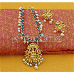 Elegant Gold Plated Temple Necklace Set UC-NEW832 - Necklace Set
