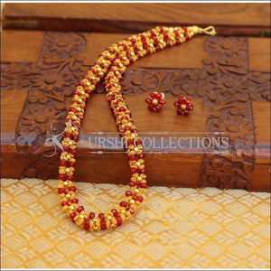 ELEGANT HANDMADE PEARL NECKLACE SET UTV677 - Necklace Set