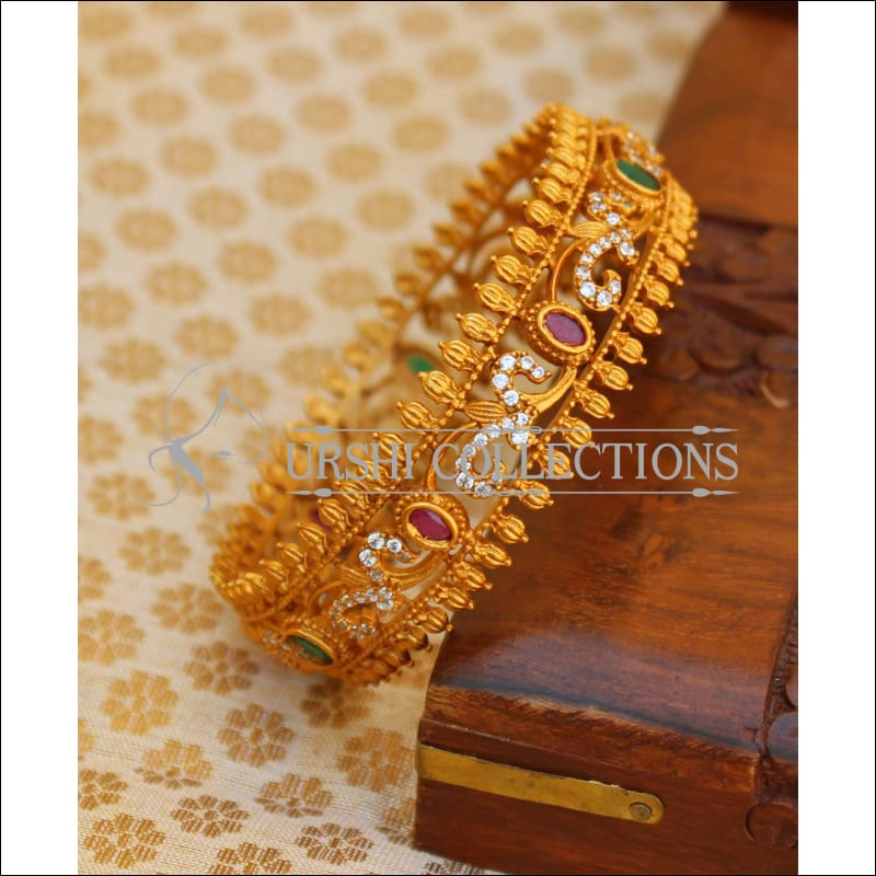 Elegant Matte Finish Bangle UC-NEW1687 - Bangles