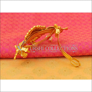 Elegant Matte Finish Lakshmi Hair Clip UC-NEW1538 - Hair Clips