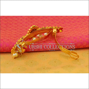 Elegant Matte Finish Lakshmi Hair Clip UC-NEW1542 - Hair Clips
