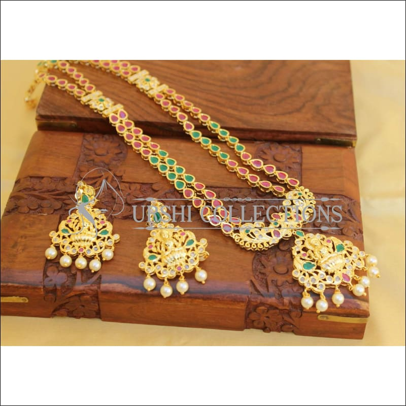 Elegant Traditional Lakshmi Necklace set UC-NEW79 - Necklace Set