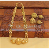 GOLD PLATED NECKLACE SET UC-NEW2947 - Necklace Set