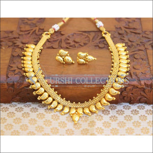 GOLD PLATED NECKLACE SET UC-NEW3013 - Necklace Set
