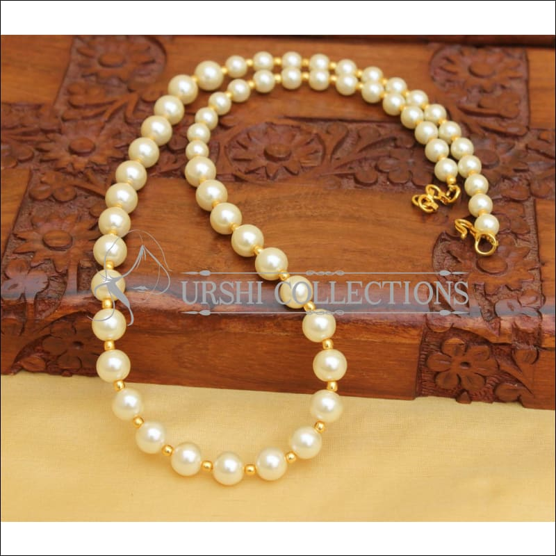 HAND MADE PEARL NECKLACE UC-NEW2882 - Necklace Set