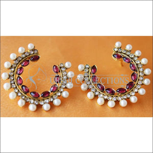 LOVELY EARRINGS UC-NEW3071 - PURPLE - Earrings