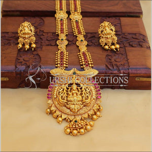 LOVELY GERU POLISH TEMPLE LONG NECKLACE SET UC-NEW3137 - Necklace Set