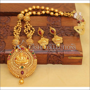 LOVELY GERU POLISH TEMPLE LONG NECKLACE SET UC-NEW3139 - multi - Necklace Set