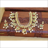 LOVELY GOLD PLATED NECKLACE SET UC-NEW3121 - MULTI - Necklace Set