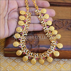 RAM PARIVAR RUBY MATTE NECKLACE UTV208 - Necklace Set