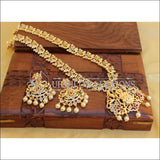 Traditional Elegant Gold Plated Temple Necklace Set UC-NEW90 - Multi - Necklace Set