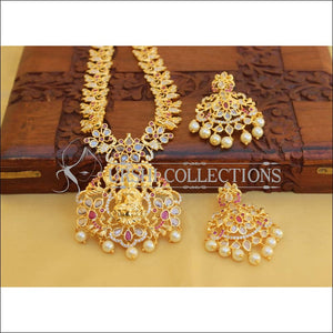 Traditional Elegant Gold Plated Temple Necklace Set UC-NEW90 - Necklace Set