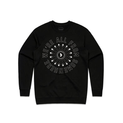 We're All From Somewhere - Crew Neck Sweater - Sold Out