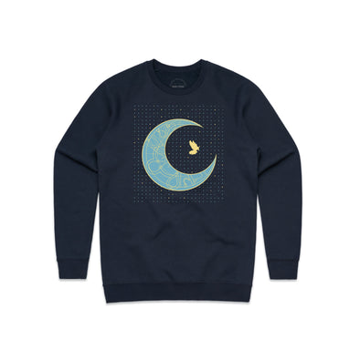 Time Peace Crew Neck Sweatshirt - Sold out