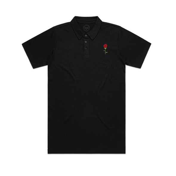 Resilience Rose - Embroidered Polo