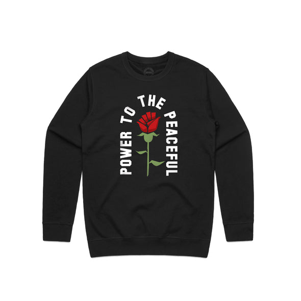 Power to the Peaceful - Crewneck