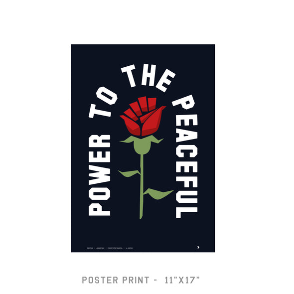 Power to the Peaceful - Poster