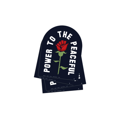 Power to the Peaceful - Sticker Pack