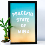 Peaceful State of Mind  - Poster
