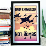 Drop Knowledge - Poster