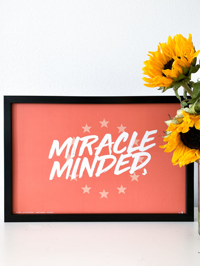 Miracle Minded - Poster - Sale