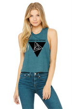 Famous For Nothing Heather Cropped Tank