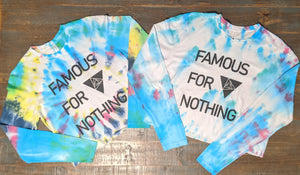 Tie Dye Crop-Long Sleeve