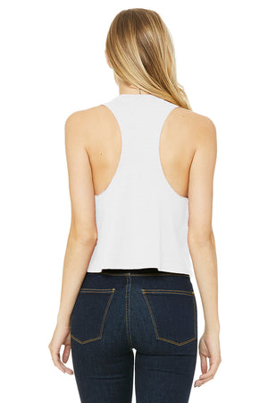 Famous For Nothing Racerback Cropped Tank