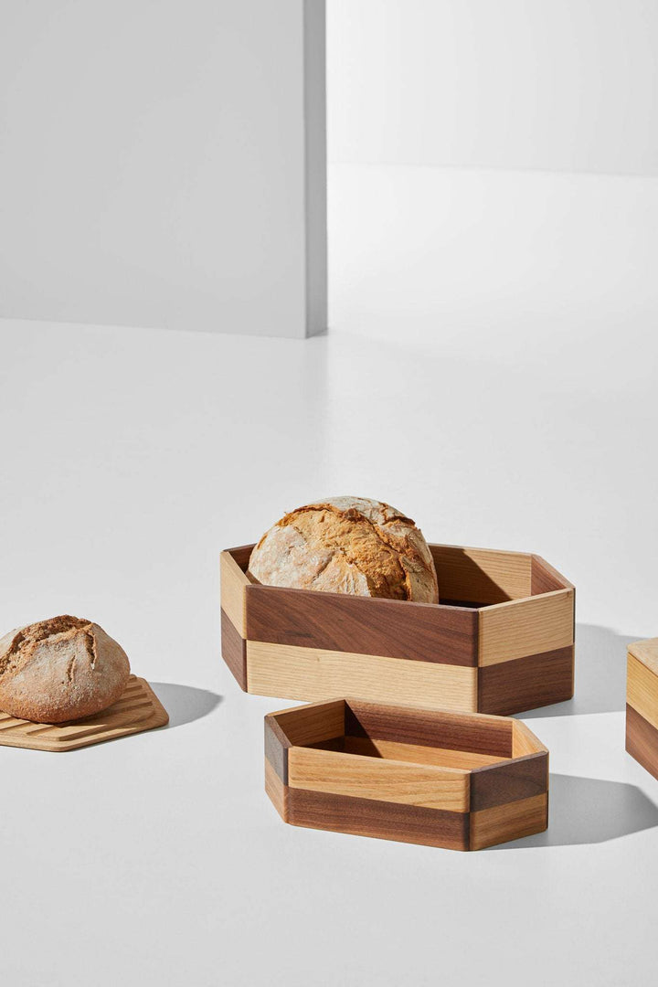 Wooden bread box - Mad Lab