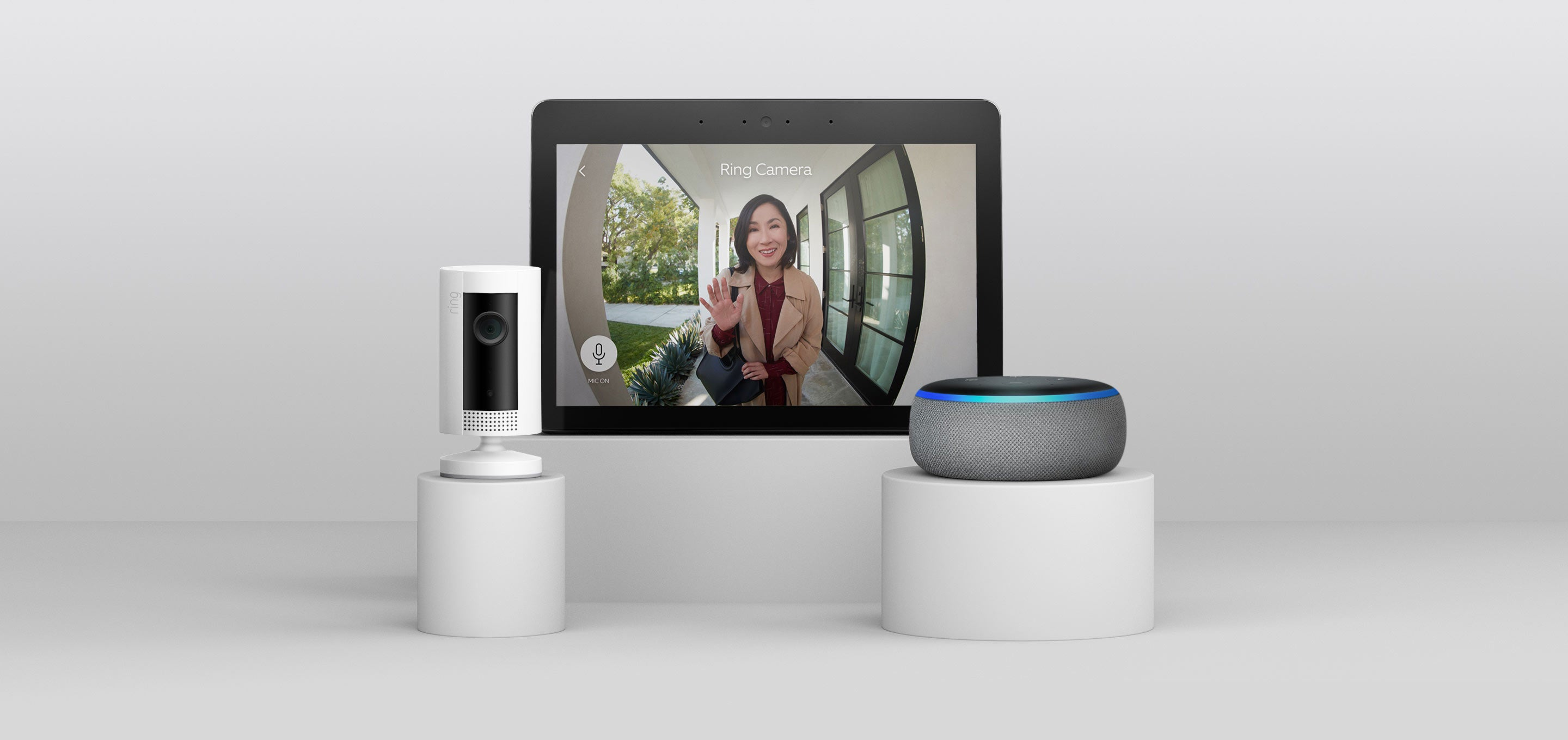 Do more with Video Doorbell and connect it to an array of compatible devices for a smarter, more secure home.