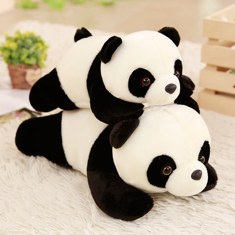 Cute Plush Panda Pillow Toy!