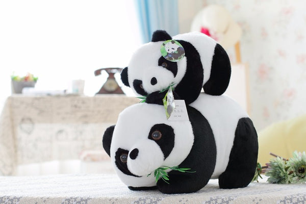 Crawling Panda Plush Toy