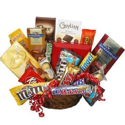Irresistibly Chocolate Basket