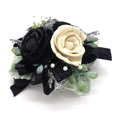 Timeless Black Corsage