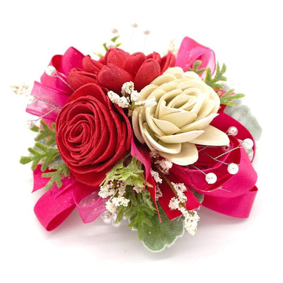 Timeless Hot Pink Corsage