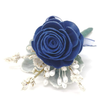 Timeless Navy Boutonniere