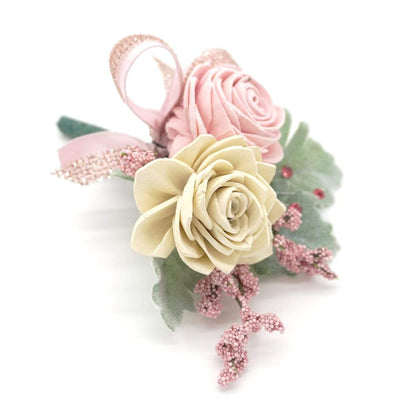 Formal Blush Boutonniere