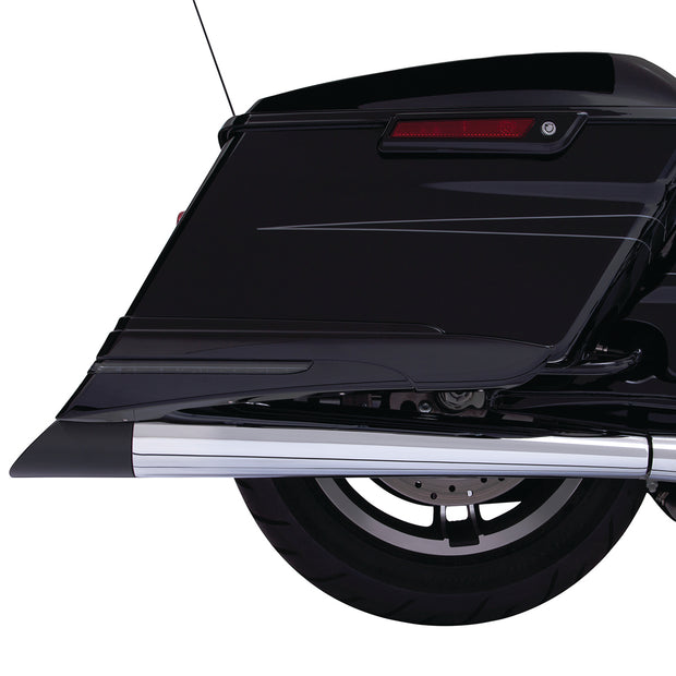 Ciro Slanted Muffler Tips in Chrome or Black