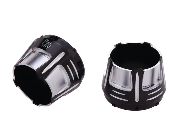 Billet Diffuser Muffler Tips in Chrome or Black
