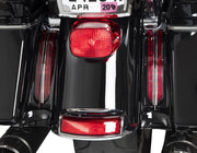 Filler Panel Lights For Ultra And Road King With All Red Leds In Chrome Or Black Ciro