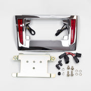 Lighted License Plate Frame Holder for Tri Glide®
