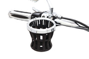 "Ciro Drink Holders With 7/8"" & 1"" or 1-1/4"" Clamp in Chrome Or Black"