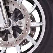 Ciro Chrome Faceted Front Wheel Accents