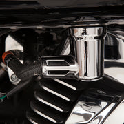 Ciro Chrome Fuel Fitting Cover