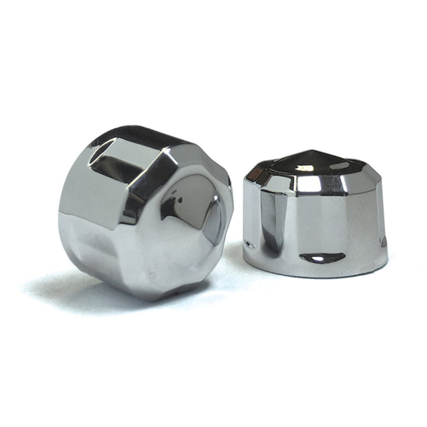 Engine Bolt Cover Kits For M8 Models. Available in Chrome or Black
