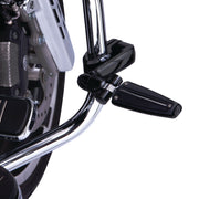 Adjustable Highway Mounts With Extension Arms in Chrome or Black